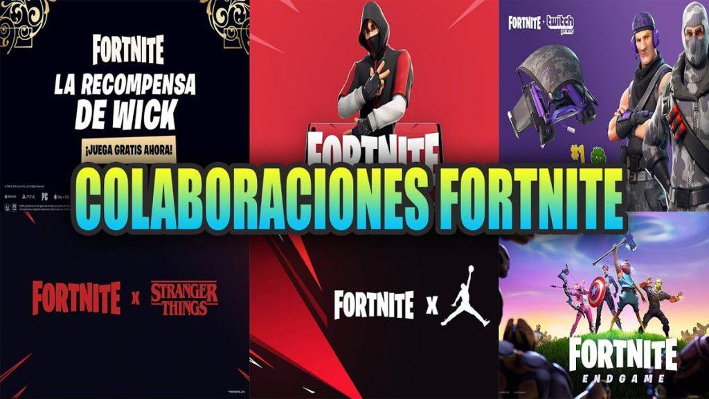 Colaboraciones de Fortnite