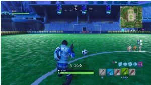 estadio de futbol de fortnite